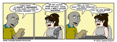 The Superhero Job Part 3