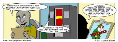 The Superhero Job Part 4