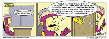 The Superhero Job Part 5