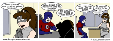 The Superhero Job Part 12