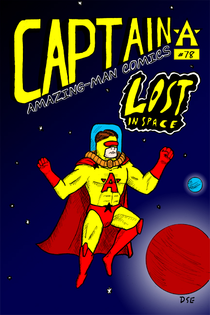 Captain Amazing-Man #78