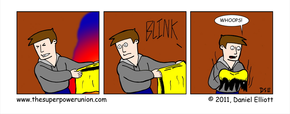 Just A Blink Away