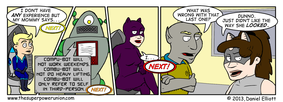The Superhero Job Part 10