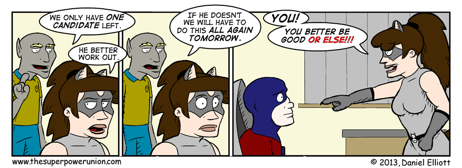 The Superhero Job Part 11