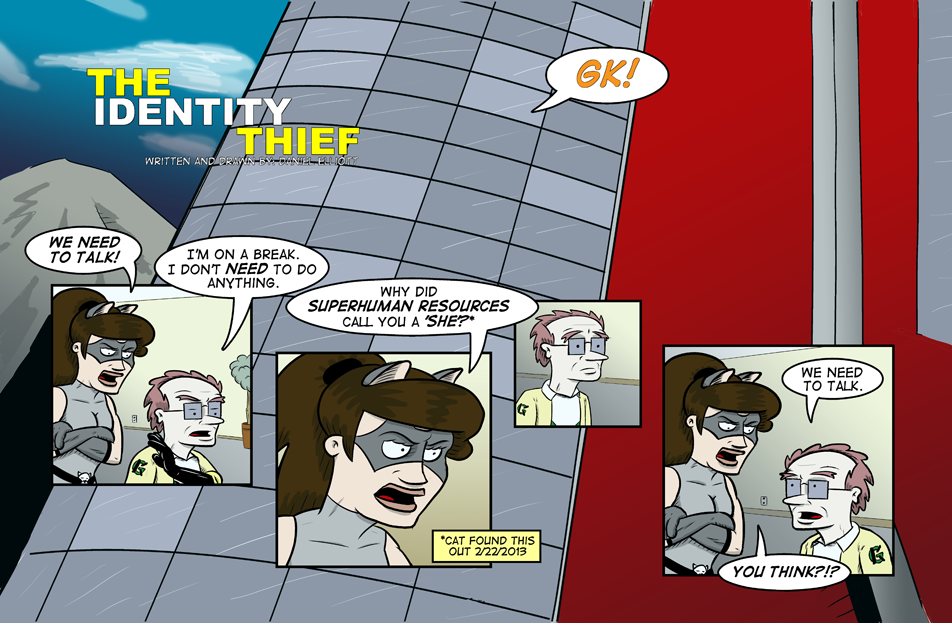 The Identity Theif Part 1