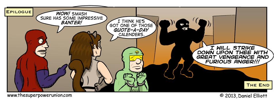 Free Comic Book Day Epilogue